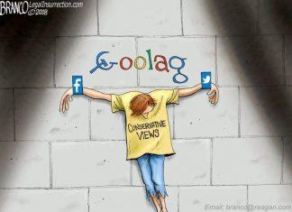 Stalinesque evil social media