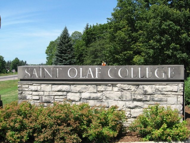 liberals at St. Olaf College white supremacy