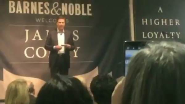 Comey Barnes and Noble