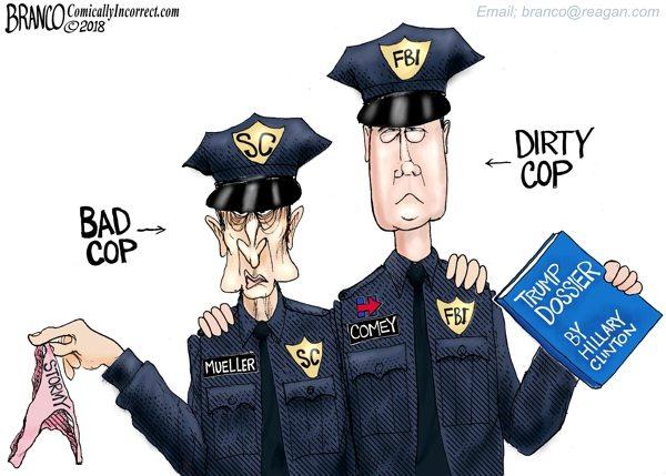 Deep State Mueller Comey