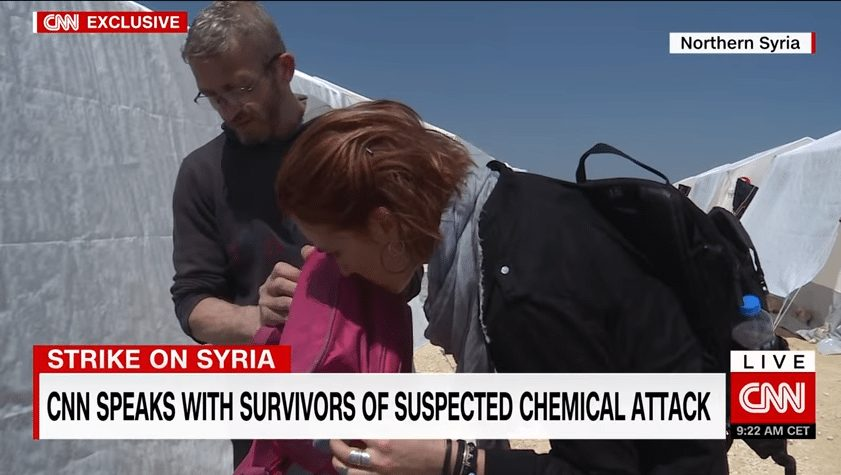 cnn contaminated backpack chemical agent
