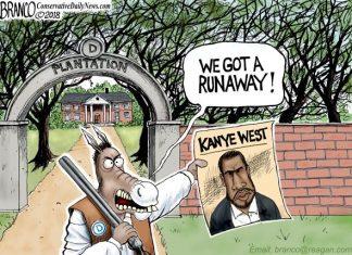 Democrats plantation Kanye West