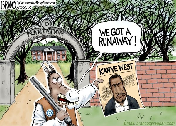 Democrats plantation Kanye West