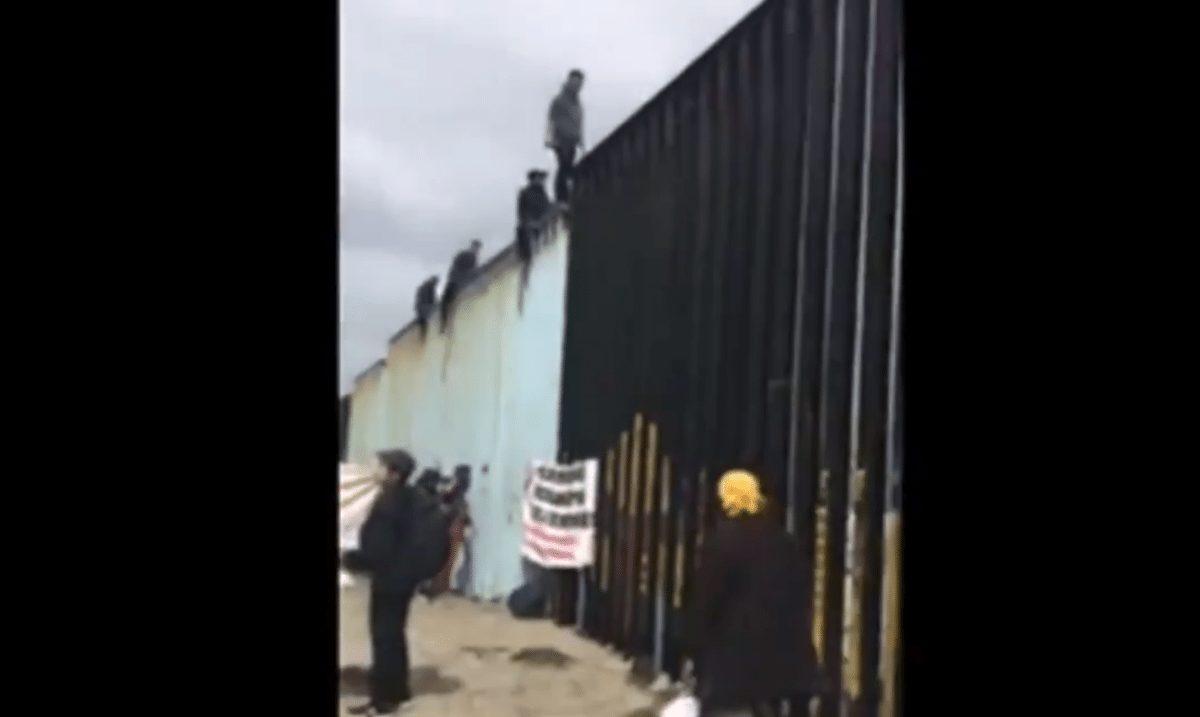 illegals caravan