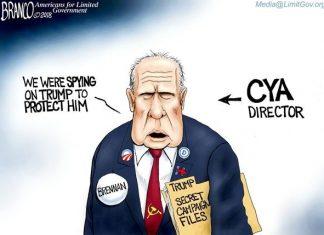 Deep state Brennan CYA
