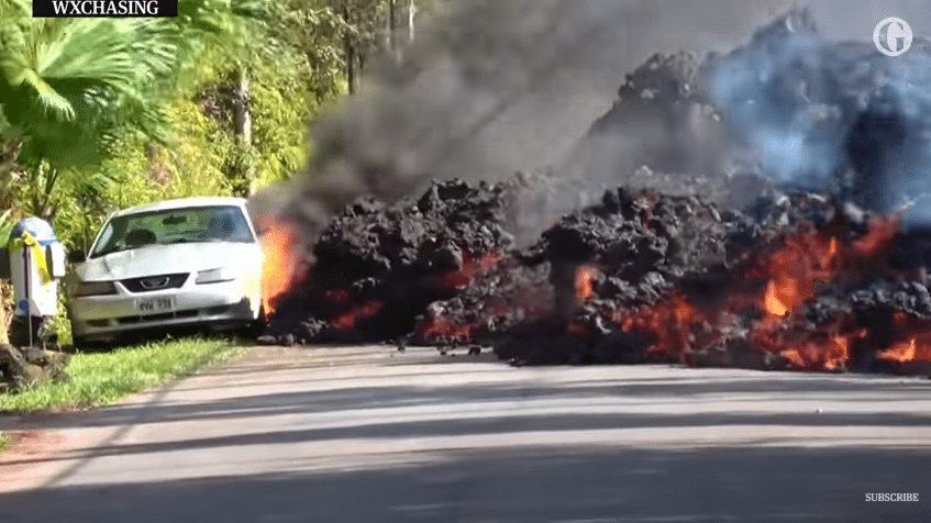 car lava hawaii