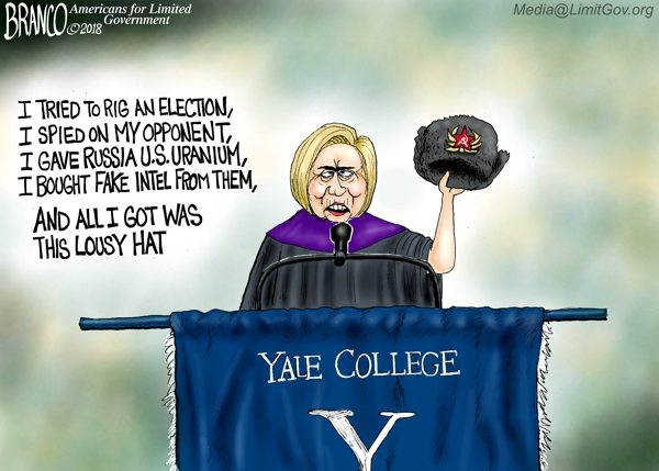 Clinton Russia hat