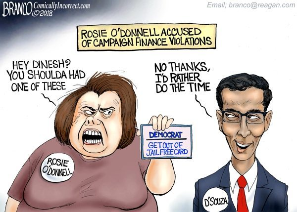 Rosie O'Donnell Dinesh D'Souza