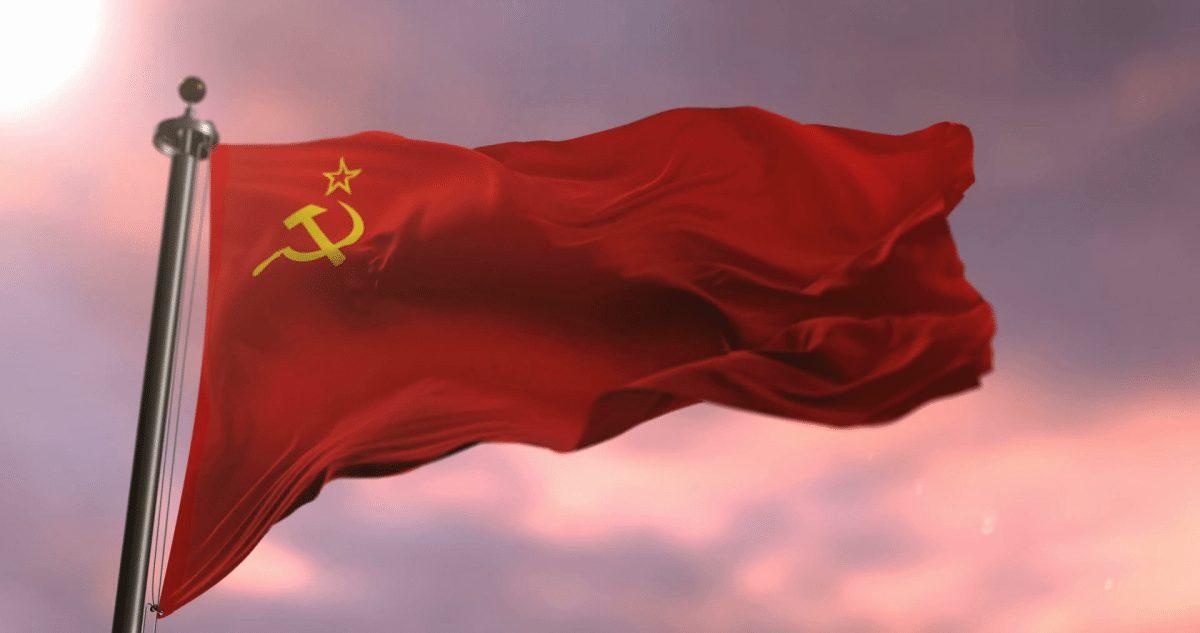 Communist soviet flag