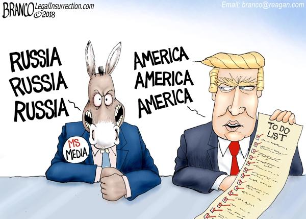 focused russia