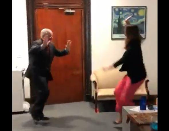 mayor dances sanctuary city