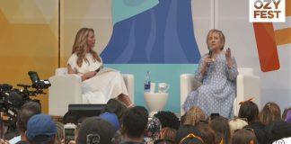 Hillary Clinton OZYFest