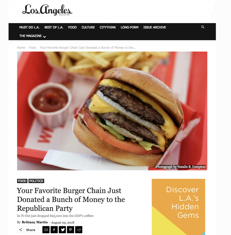 California In-N-Out