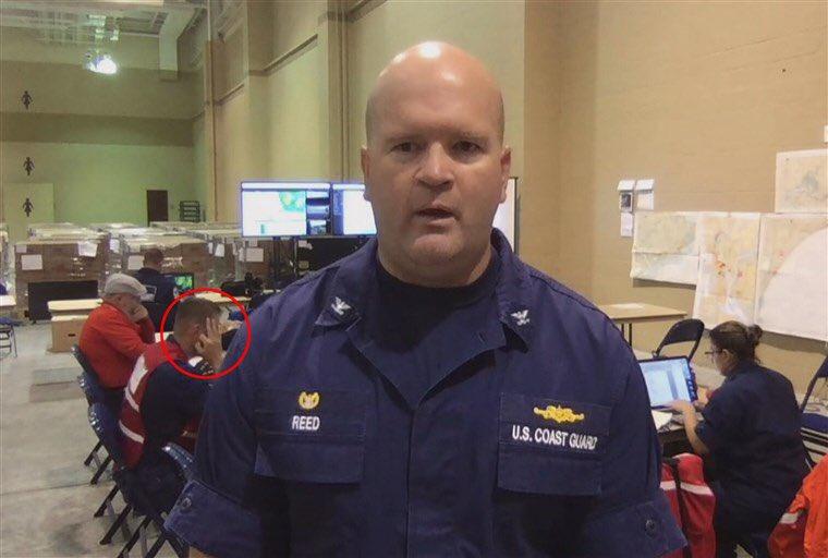 coast guard member