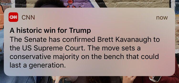 kavanaugh confirmed