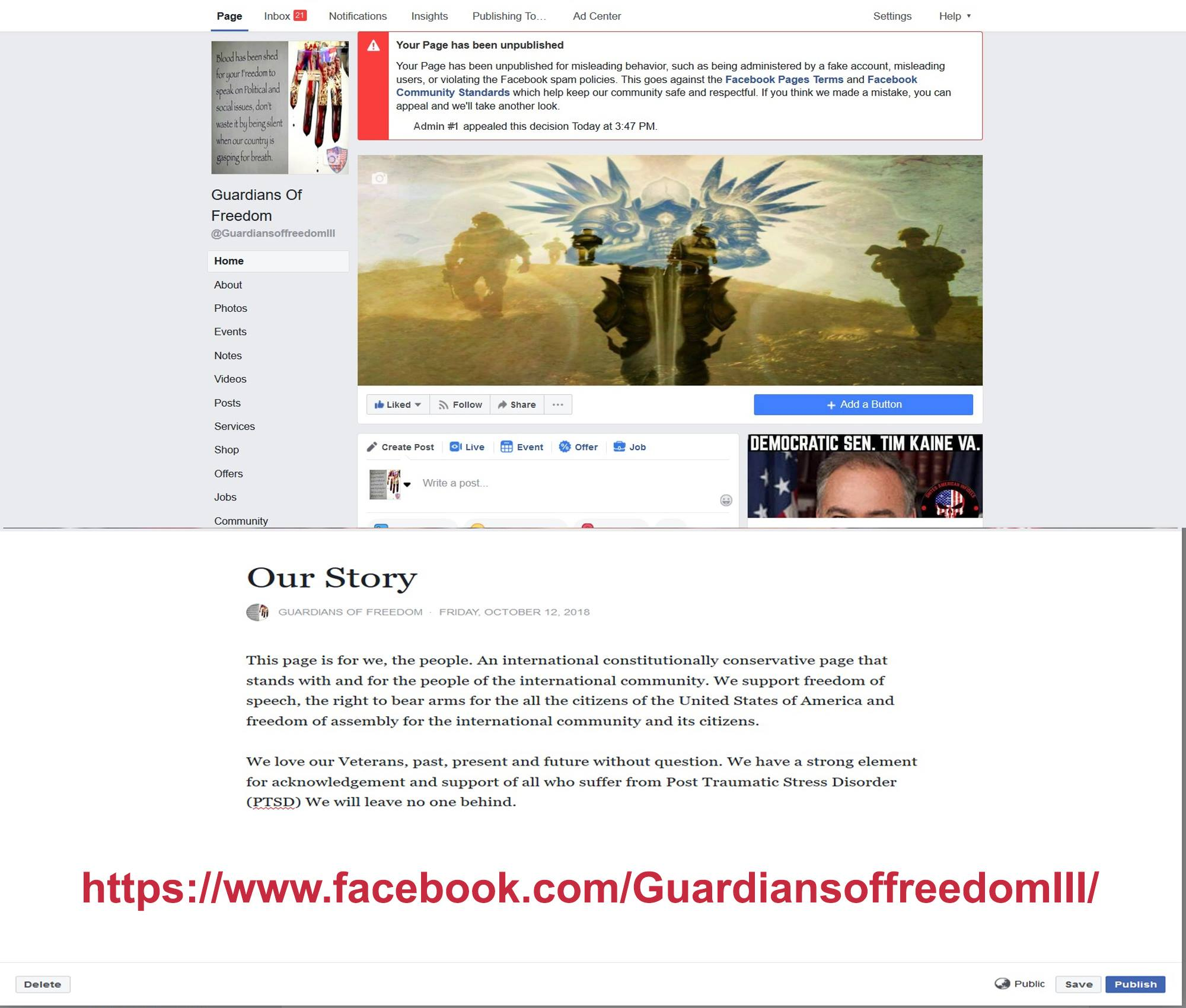 Facebook PTSD