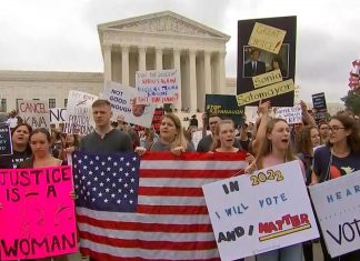 protest mob Democrats violence