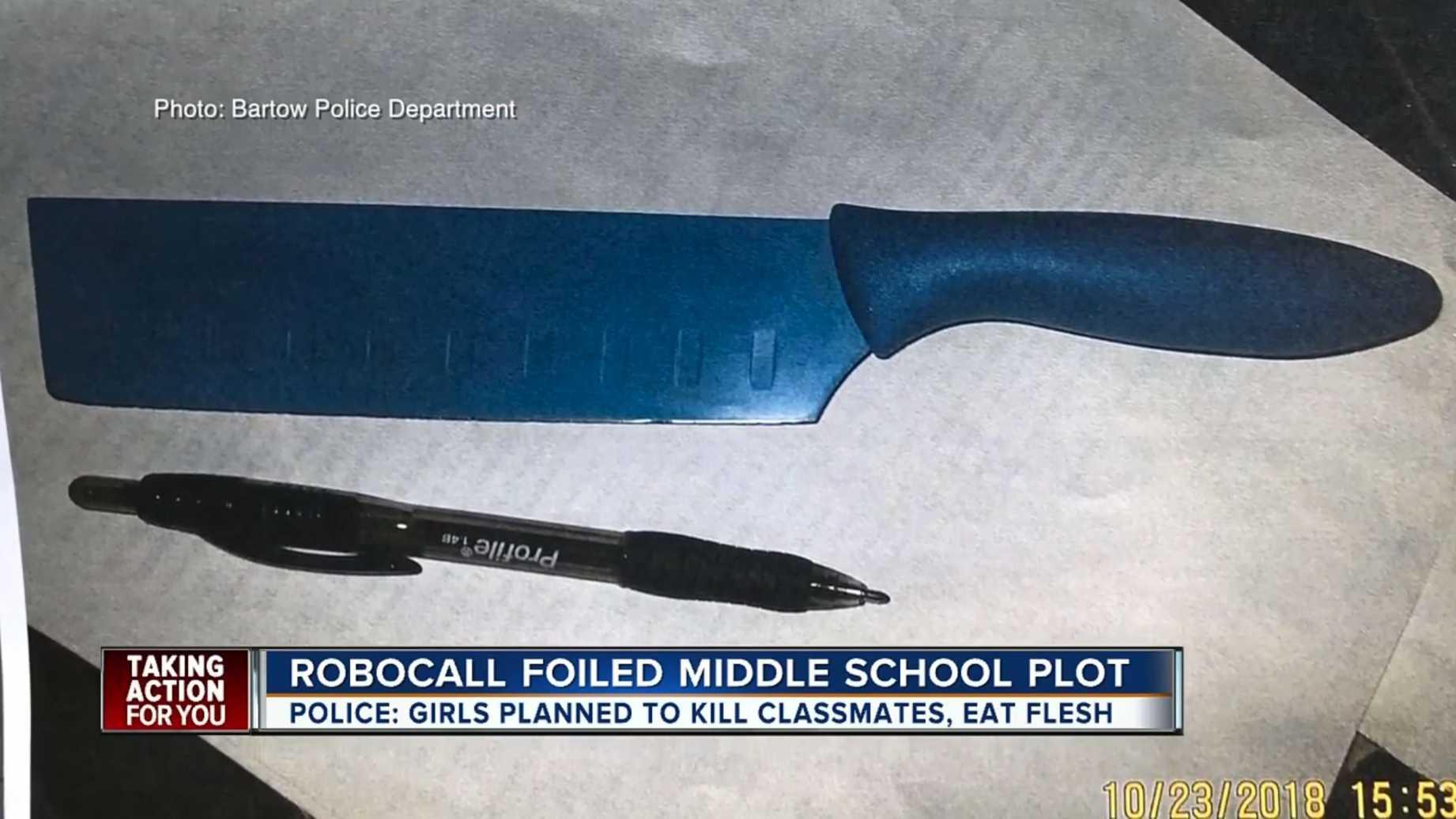 Cops foil plot by Satan-worshiping girls to kill ...