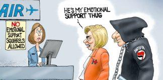 Clinton mobs