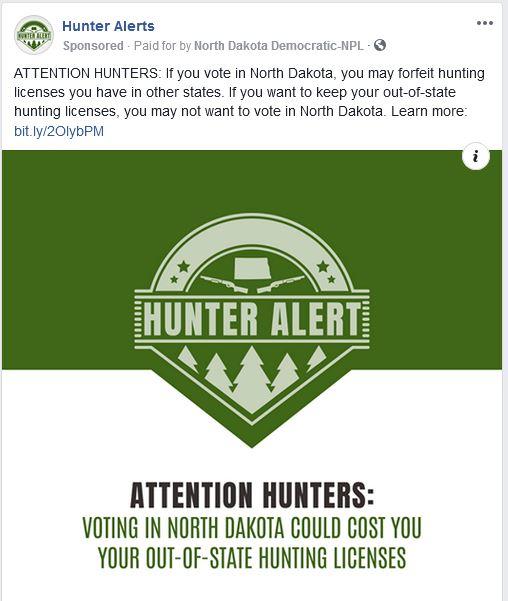 hunters Facebook