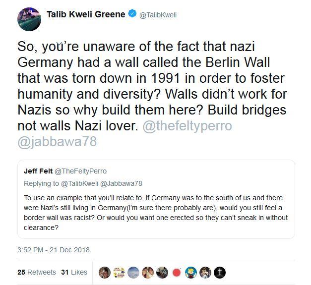 Greene wall
