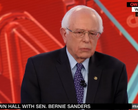 Bernie says 'American people will write gun safety legislation'