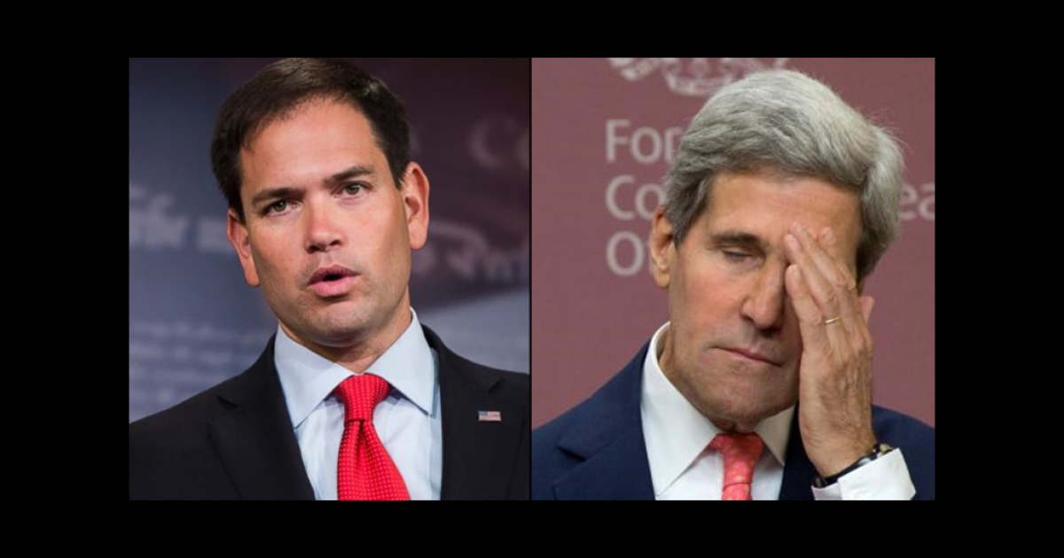 Sen Marco Rubio Asks AG Barr to Look into John Kerry Meetings With Iran ⋆ Conservative Firing Line