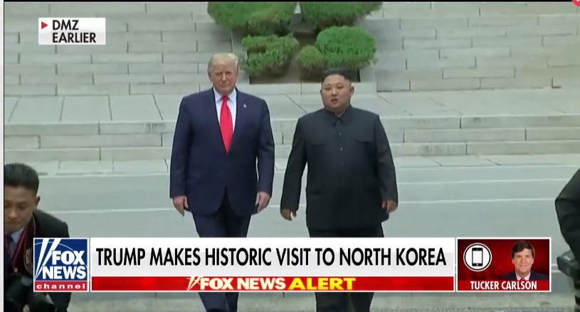 trump became first