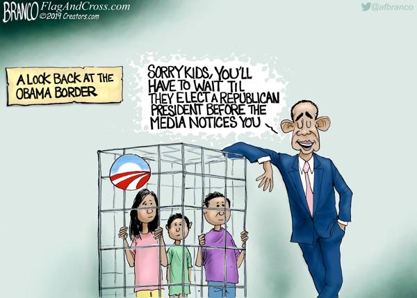 cage Obama