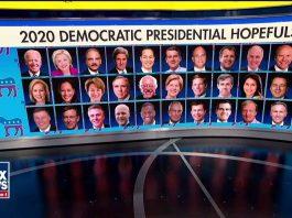 2020 Dem candidates