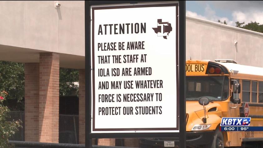 texas teen disciplined