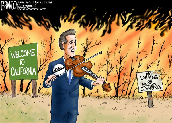 burn California