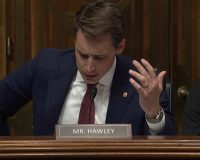 GOP Sen. Josh Hawley: DNC, FBI Colluded to Rig 2016 Election (Video)