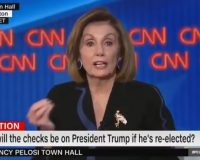 Video: Nervous Nancy Pelosi justifies impeachment with false claim that civilization, entire planet at stake in next election