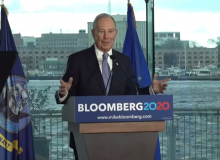 Bloomberg heads for Nevada debate; polling 'surges,' but wait…