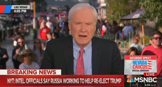 Video of the Day: Chris Matthews, MSNBC spout silly conspiracy that 'dictator' Trump collaborating with non-existent 'Soviets'