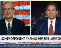 Shifty Adam Schiff's GOP Opponent Calls Him a 'National Disgrace' and 'Clown' (Video)