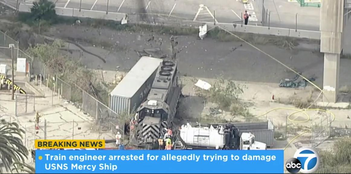 engineer derailed