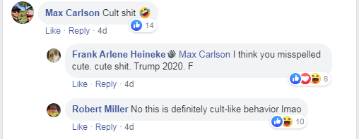 Max Carlson felt the need to insult someone for having fun.