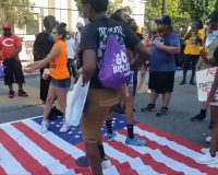 Video of the Day: Watch BLM Activists Stomp On Flag in Washington, D.C. on July 4th