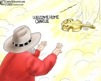 Cartoon of the Day: Charlie Daniels Tribute