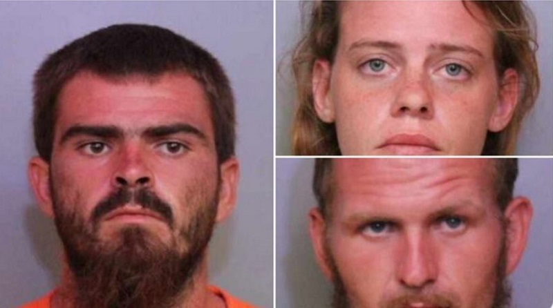 arrests of three people
