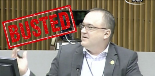 Hernando County Commissioner Steve Champion got busted in a lie about his degree.