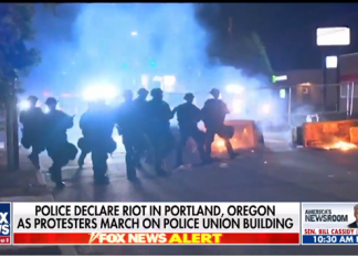 rioters moved