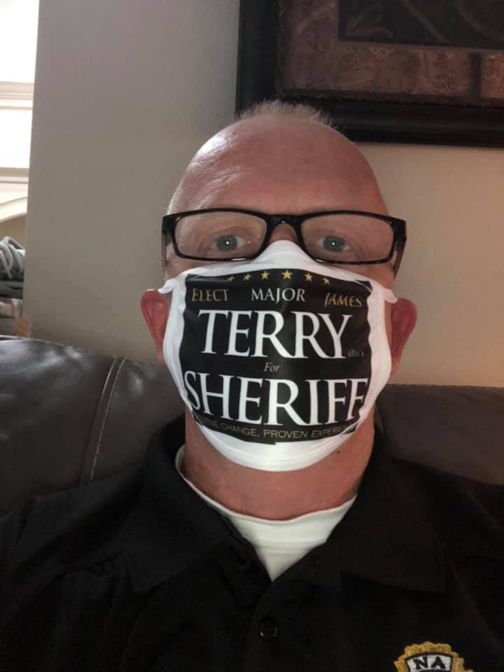 James Terry has a habit of hiding.