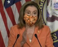 Nutty Nancy Prays To George Floyd, Thanks Him For 'Sacrificing His Life For Justice' (Video)