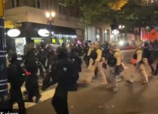 antifa riots