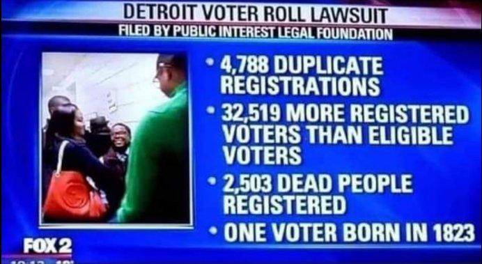 voter fraud margin