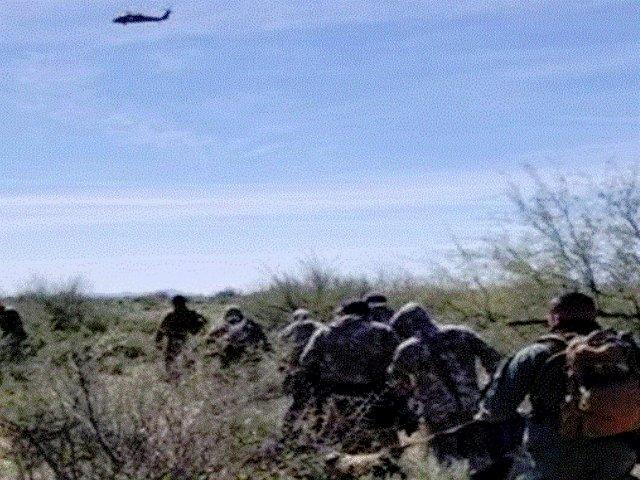 border patrol arrested