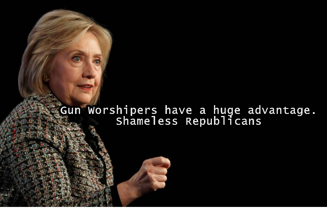 """Shameless"", ""Gun Worshipers."" Hillary Loves to Call Us Names ⋆ Conservative Firing Line"